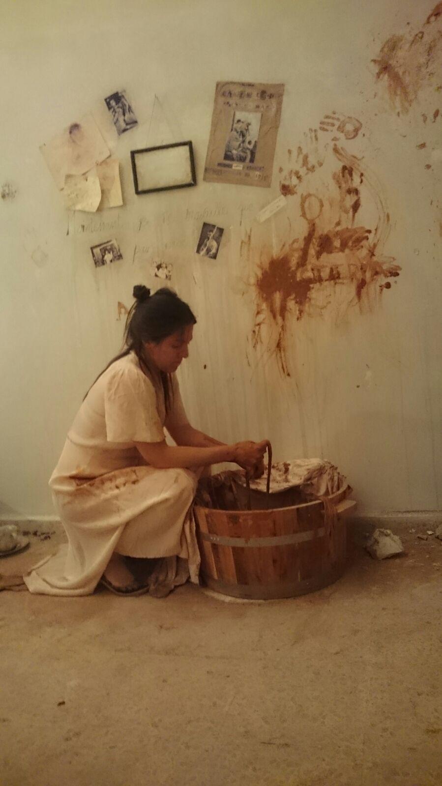 «Derrumbe», María Prado interpreta a Camille Claudel en el Centro de Creación de Segovia