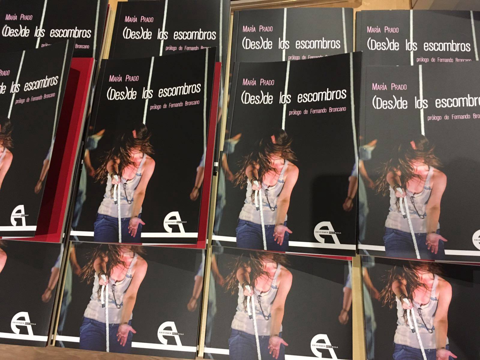 (Des)de los escombros publicada por Ediciones Antígona #Niunmessindramaturgas