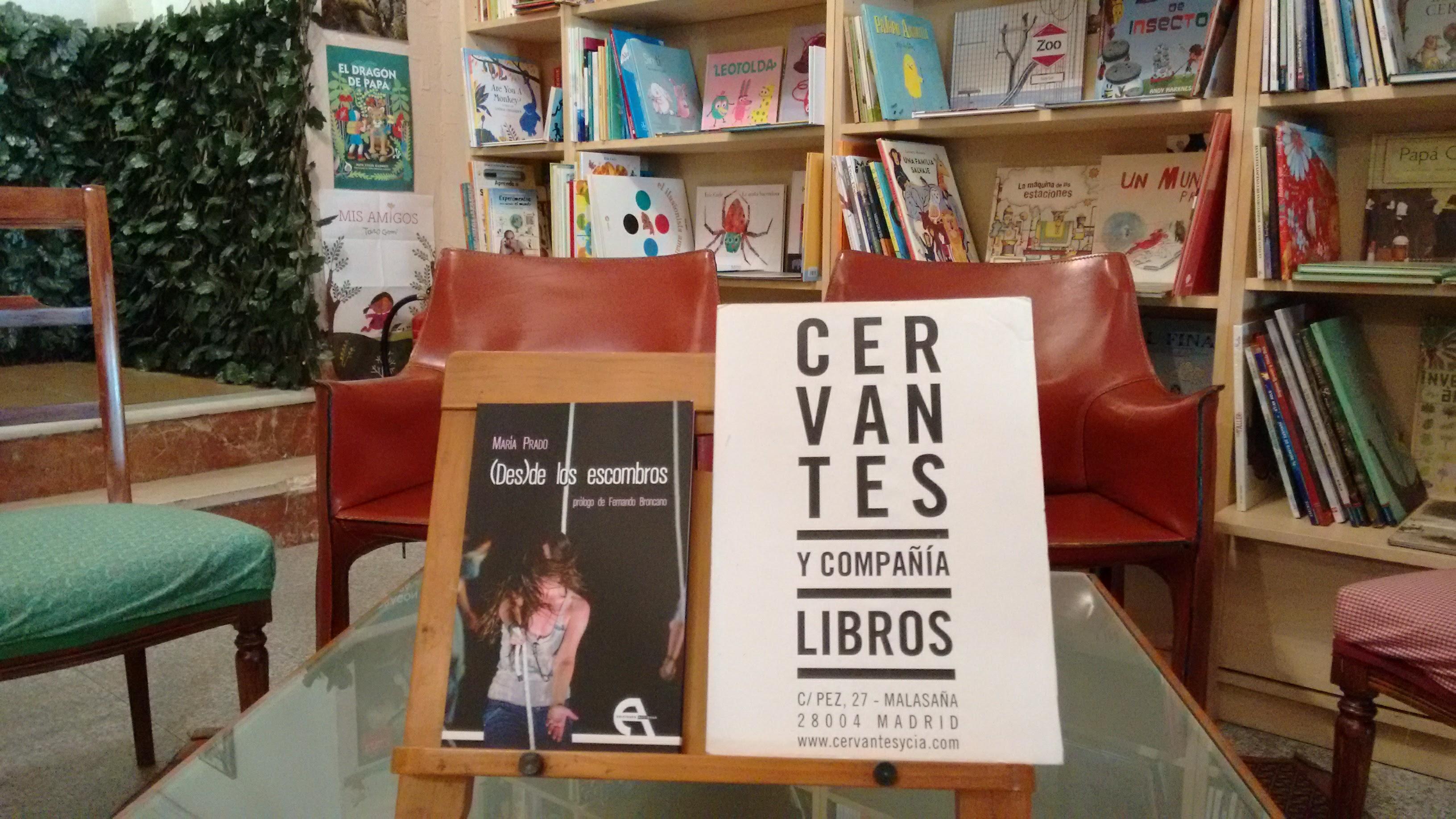 Presentación de «(Des)de los escombros» de María Prado