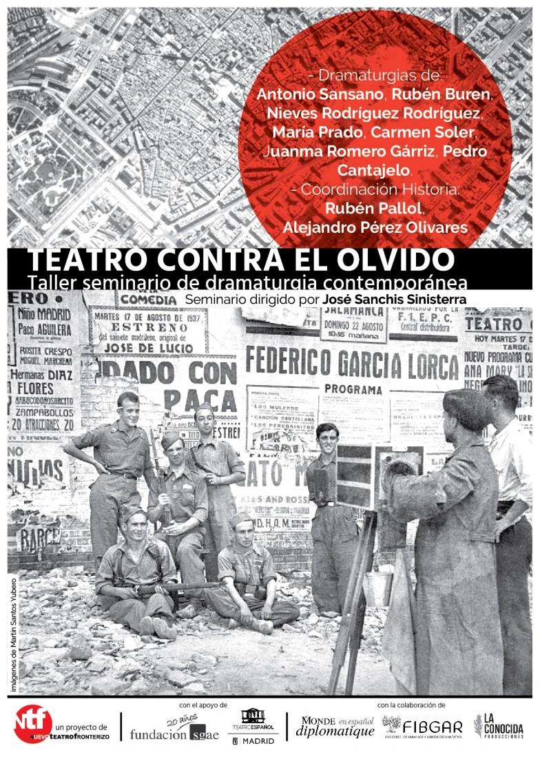 Taller-Seminario «Teatro contra el olvido»