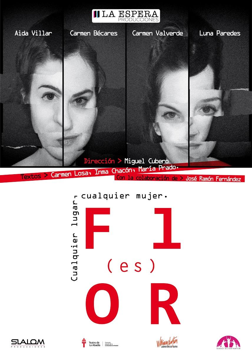 «Flor(es)_cualquier lugar cualquier mujer» con textos de Inma Chacón, Carmen Losa y María Prado en Ellas Crean 2018