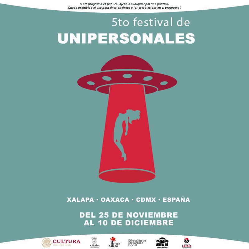 «Un universo (solo)» y «Lo que (no) se ve» en México – V Festival Unipersonales de Xalapa