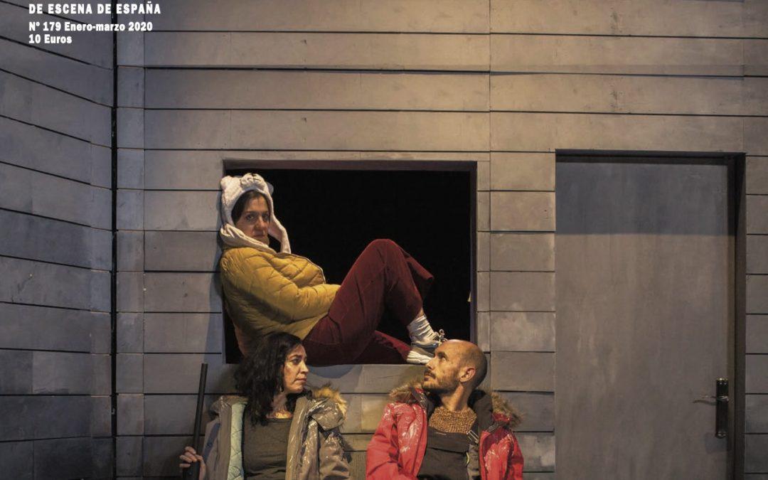 Mesa redonda de dramaturgia con Eva Mir, Lucía Carballal y María Prado para Revista ADE