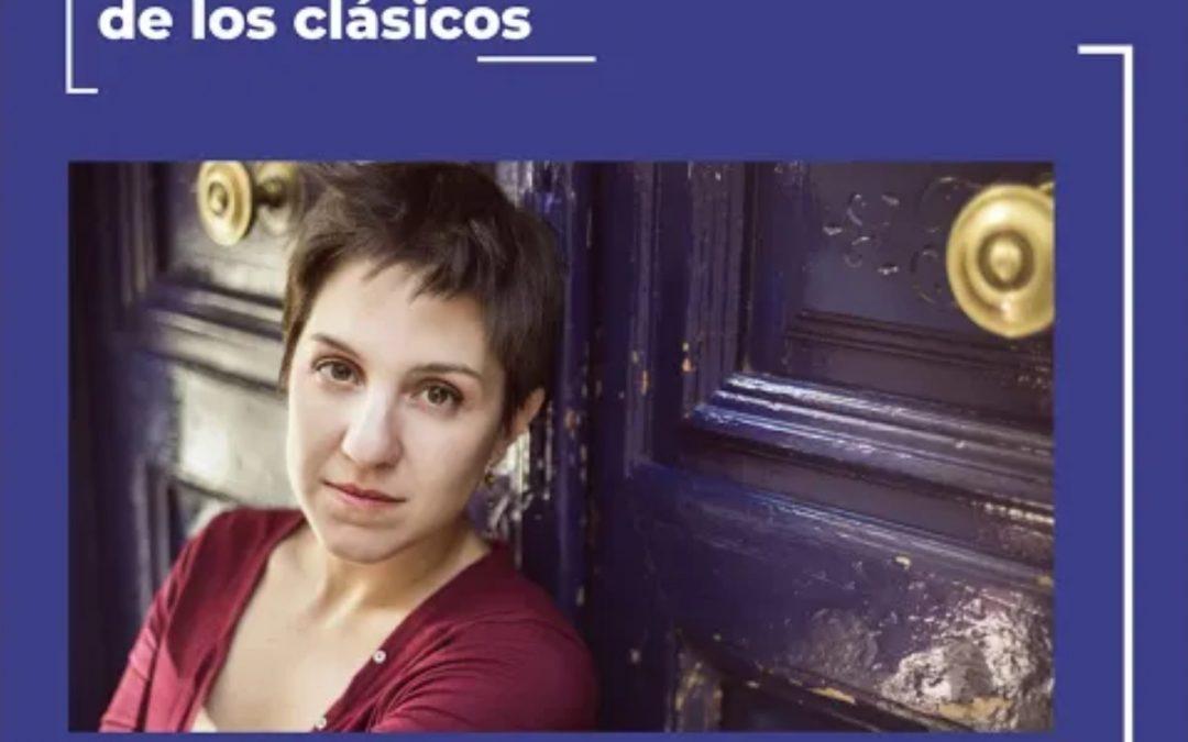 «Óyeme con los ojos» creación audiovisual escrita, dirigida e interpretada por María Prado para la Compañía Nacional de Teatro Clásico